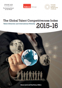 The U.S. Ranks Fourth in Global Talent, or Better than 105 Other Countries
