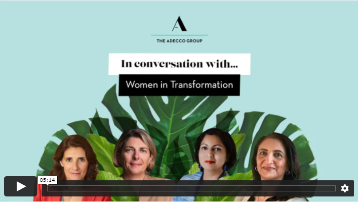 Corinne Ripoche sat down with industry leaders for a lively conversation about Women In Transformation