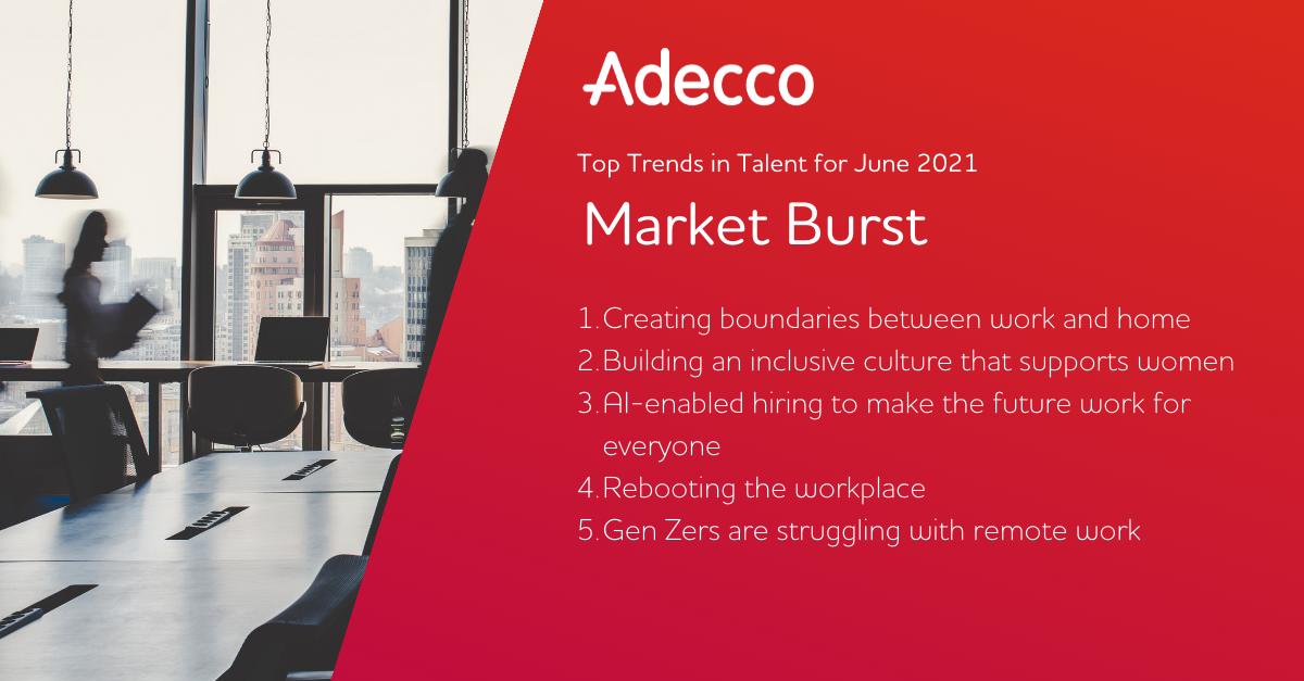 Adecco June Market Burst